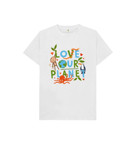 White Jess Moorhouse Kids T-shirt