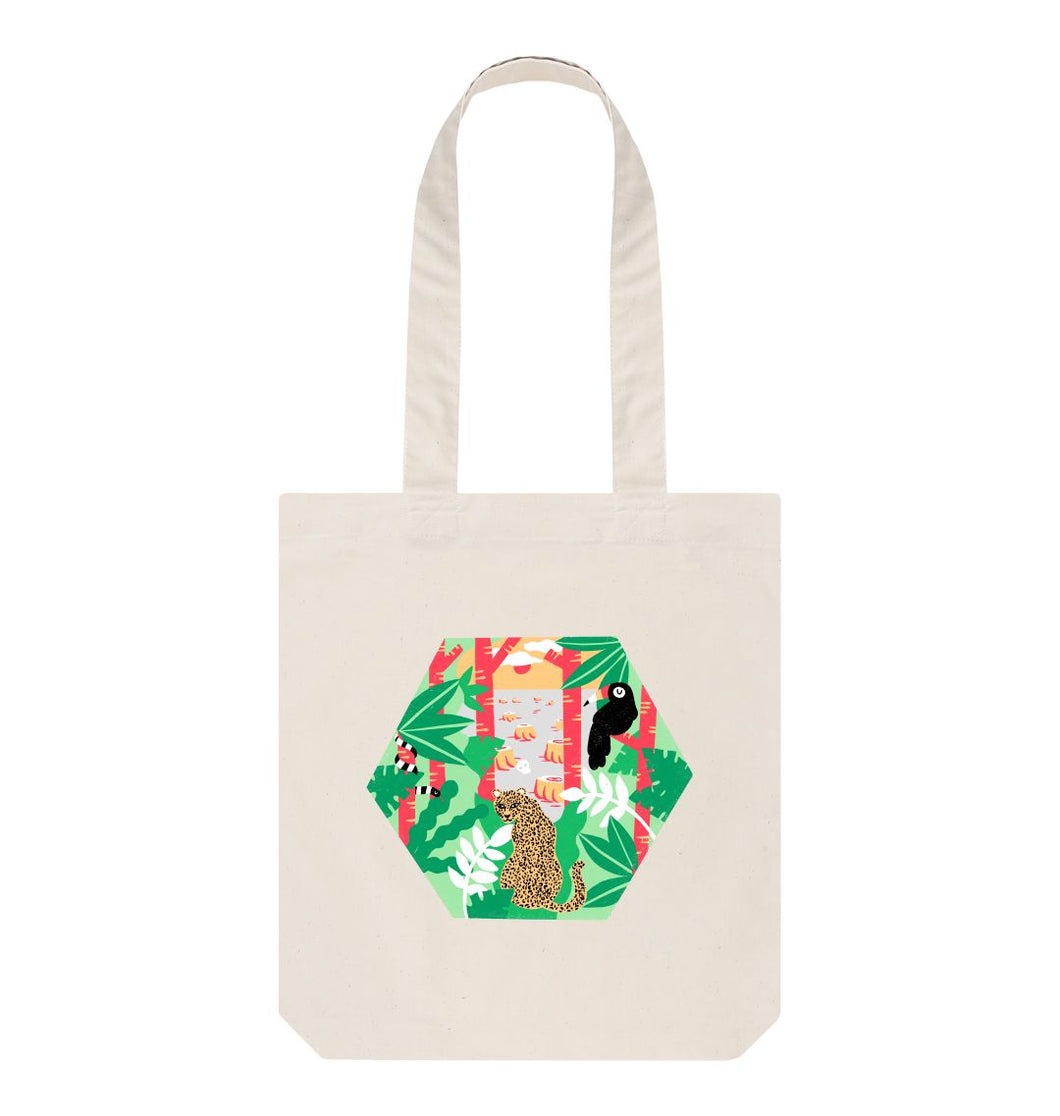Natural Keep trees standing Tote Bag