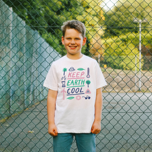 Load image into Gallery viewer, Keep Earth Cool Kid's T-shirt