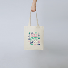 Load image into Gallery viewer, Keep Earth Cool Tote Bag