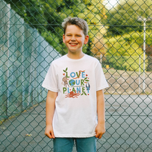 Load image into Gallery viewer, Love Our Planet Kid's T-shirt