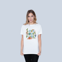 Load image into Gallery viewer, Love Our Planet T-shirt