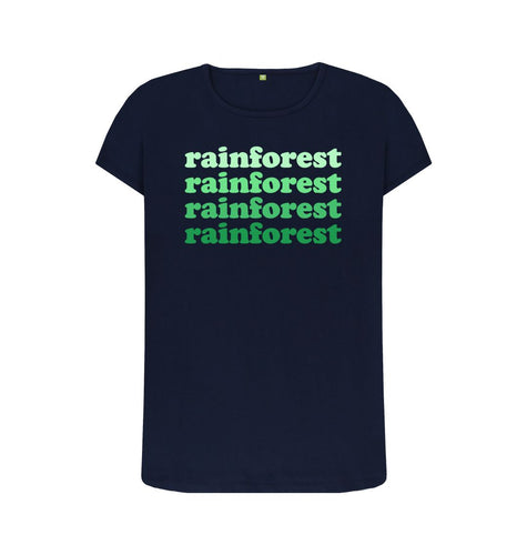 Navy Blue Rainforest T-shirts