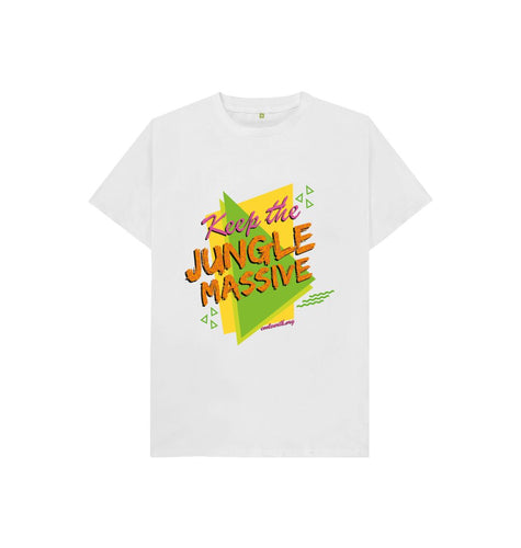 White Jungle Massive Kid's T-shirt