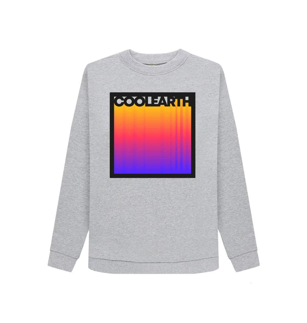 Light Heather Cool Earth Gradient Sweatshirts
