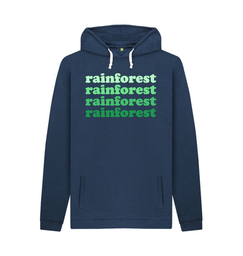 Navy Rainforest Hoodies