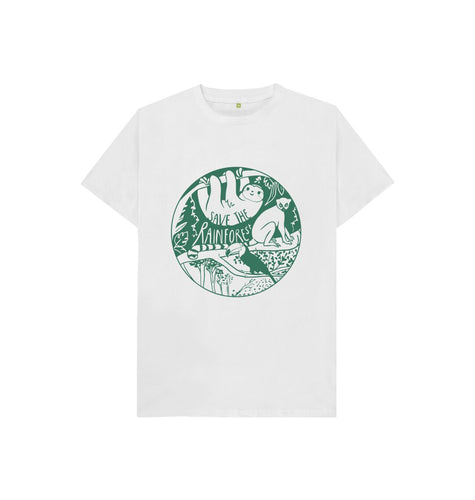 White Rachel Appleby Kids T-shirt