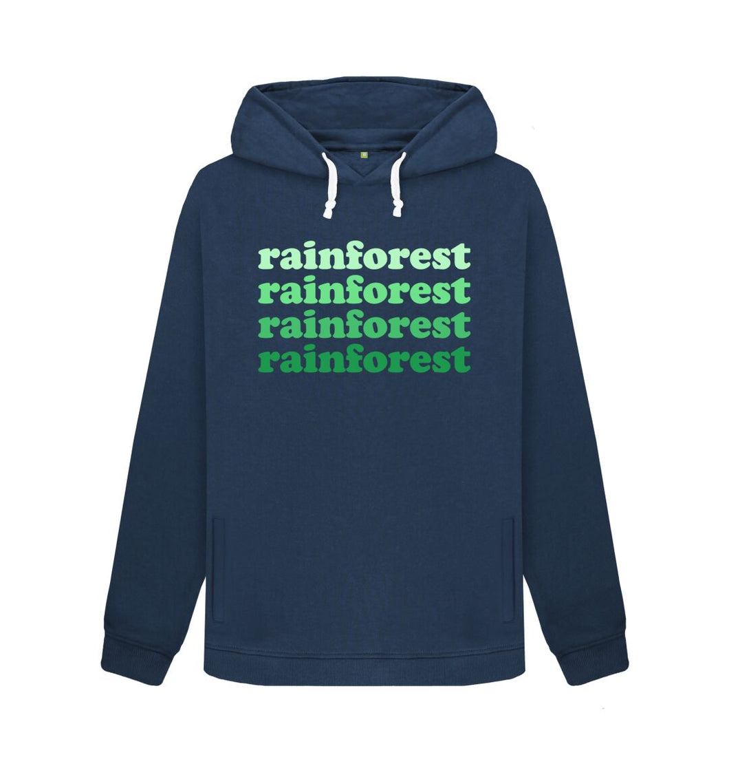 Navy Blue Rainforest Hoodie