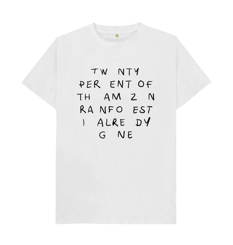 White Thea Killeya T-shirt