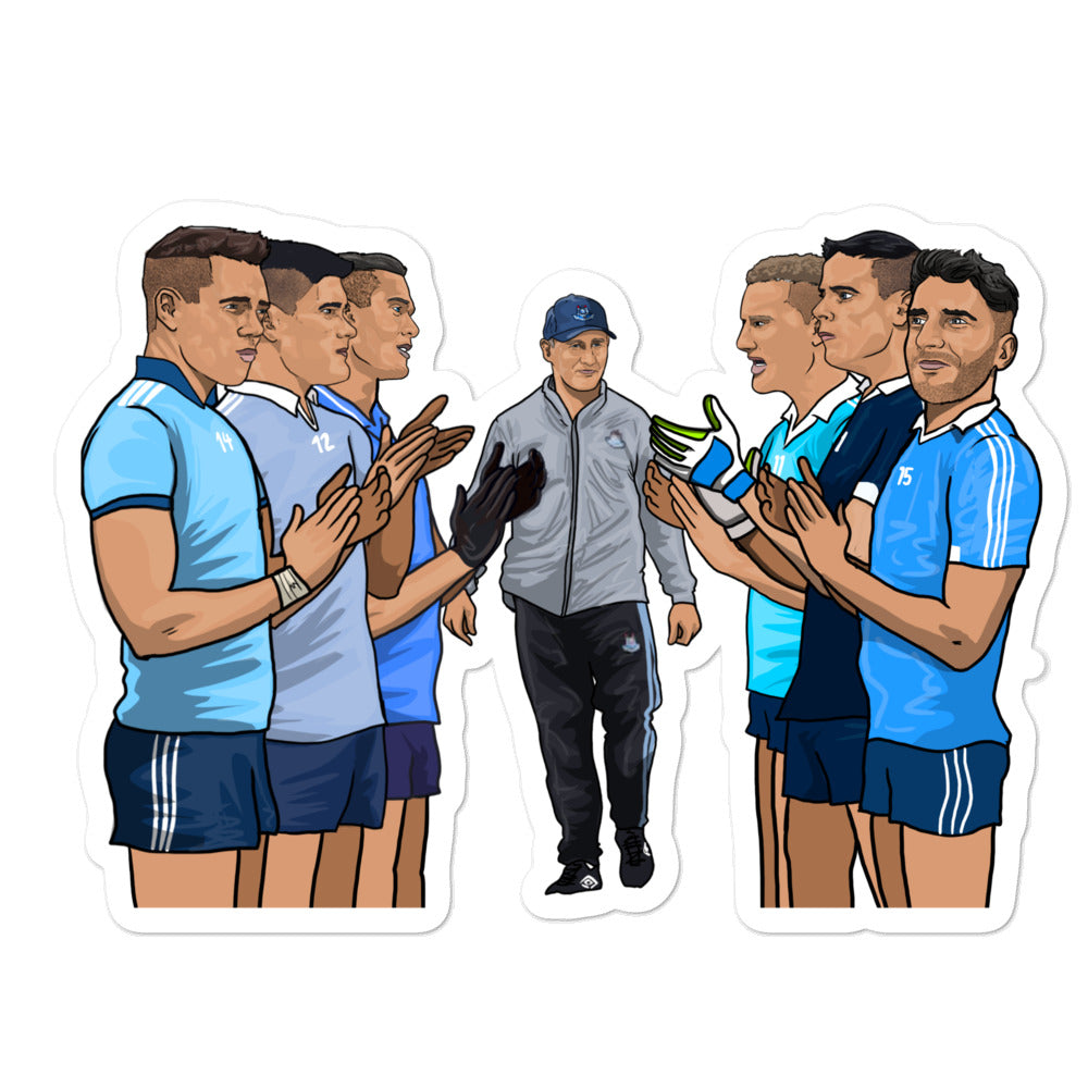 Dublin Football Stickers