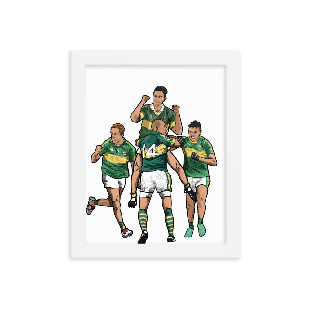 Kerry Football Framed Poster