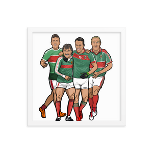 Mayo Football Framed Poster