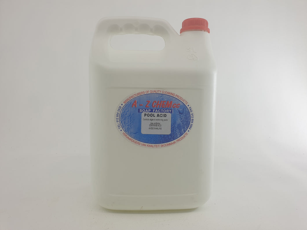 Pool Acid 50% 5 lt