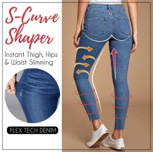 🔥 3 for RM99 ONLY!! 🔥 - TED™ S Shape Denim Jegging