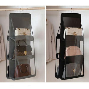 🔥 [BUY 1 FREE 1] 🔥 SOY™ 6 Pocket Hanging Handbag Purse Organizer