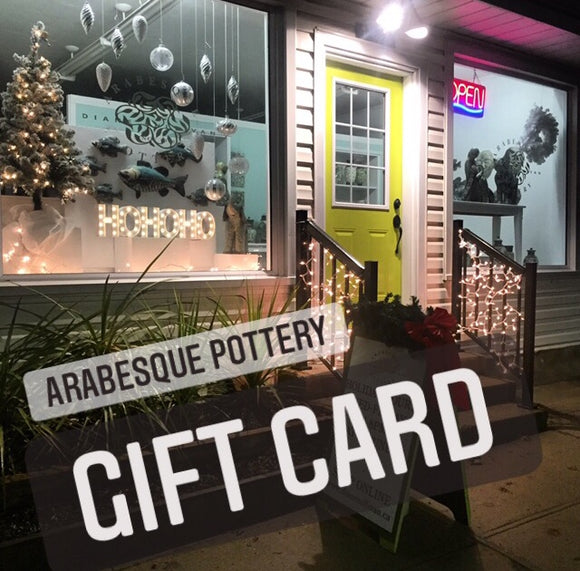 Arabesque Pottery Gift Card
