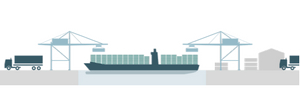 Container shipping and transport