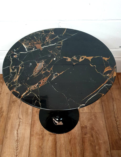 Portoro Marble Side Table - Onske