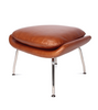 Womb Chair with Ottoman Aniline Leather - Onske