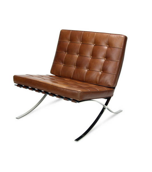 Aniline Leather Barcelona Chair Onske Premium Range - Onske