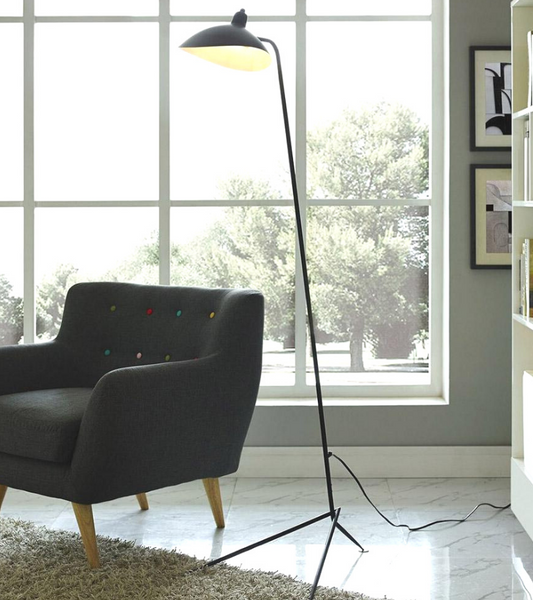 Mouille Style Tripod One Head Floor Lamp - Onske