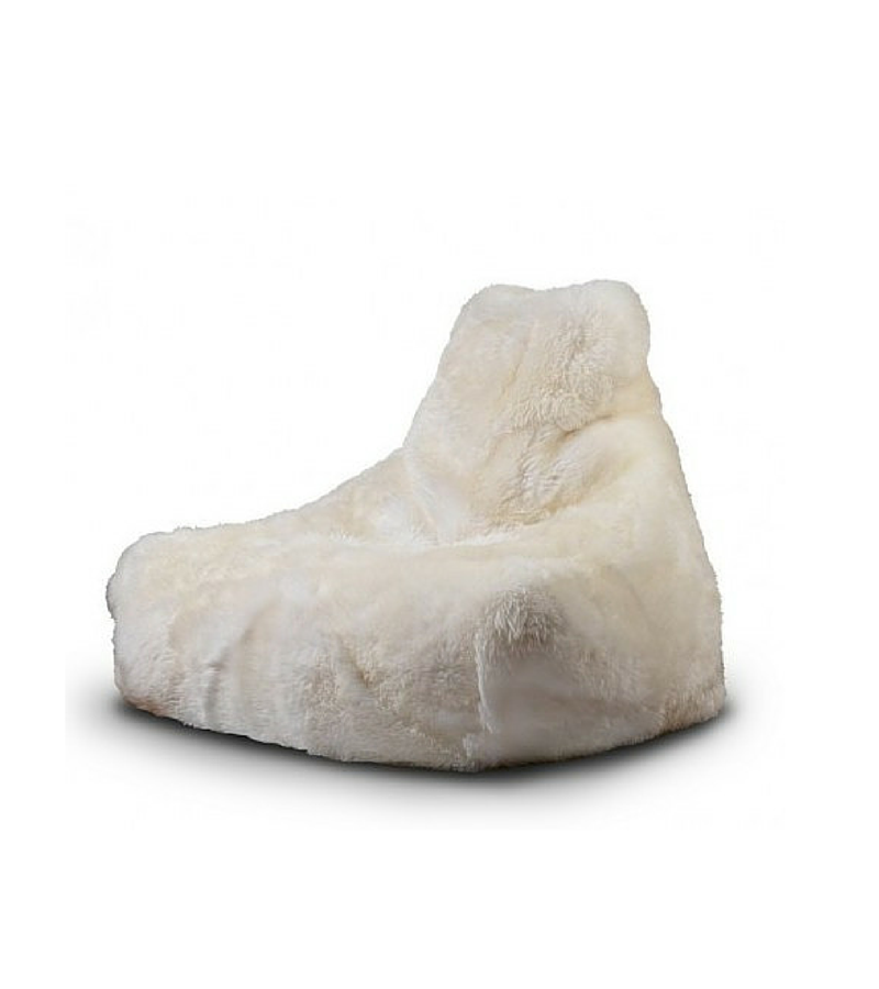 Pure 100% Sheepskin Luxury Beanbag Chair in choice of furs - Onske  - 3