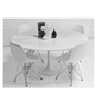Marble Tulip Style Dining Table - Onske  - 2