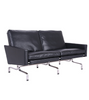 PK31 Two Seat Sofa Poul Kjaerholm style Premium Leather - Onske