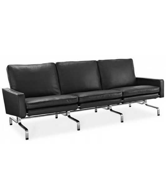 PK31 Style Three Seat Sofa in the style of Poul Kjaerholm - onske-2