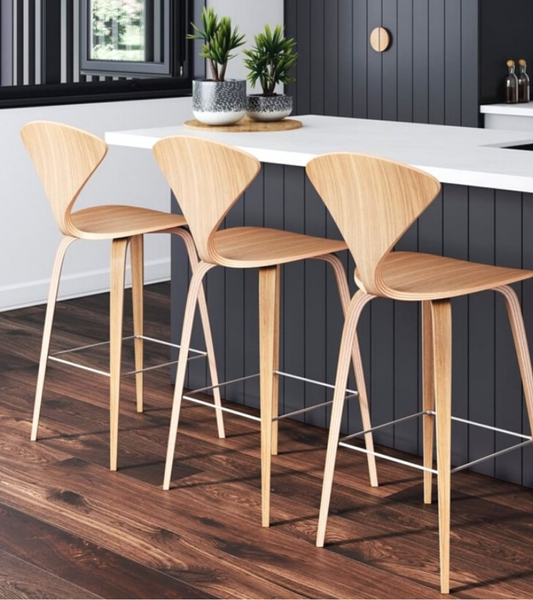 Cherner Style Counter Stool 65cm Seat Height - Onske