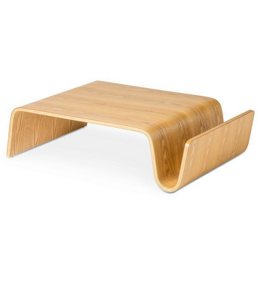 Wave Coffee Table Scando style in Oak - onske-2