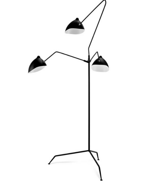 Mouille MFL-3 Style Three Arm Floor Light