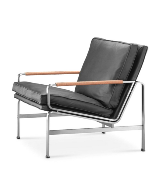 FK6720 Style Chair Waxed Aniline Leather - Onske