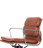 EA 217 Style Office Chair in Waxed Aniline Leather - Onske