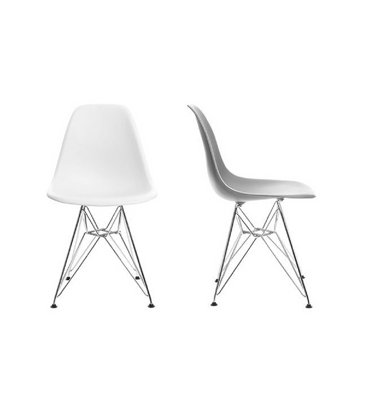 DeSR style Eiffel Leg Chair in choice of colour - Onske