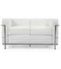 LC2 Two Seat Sofa Le Corbusier Style - Onske