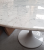 Oval Marble Tulip Table Choice of Size - Onske