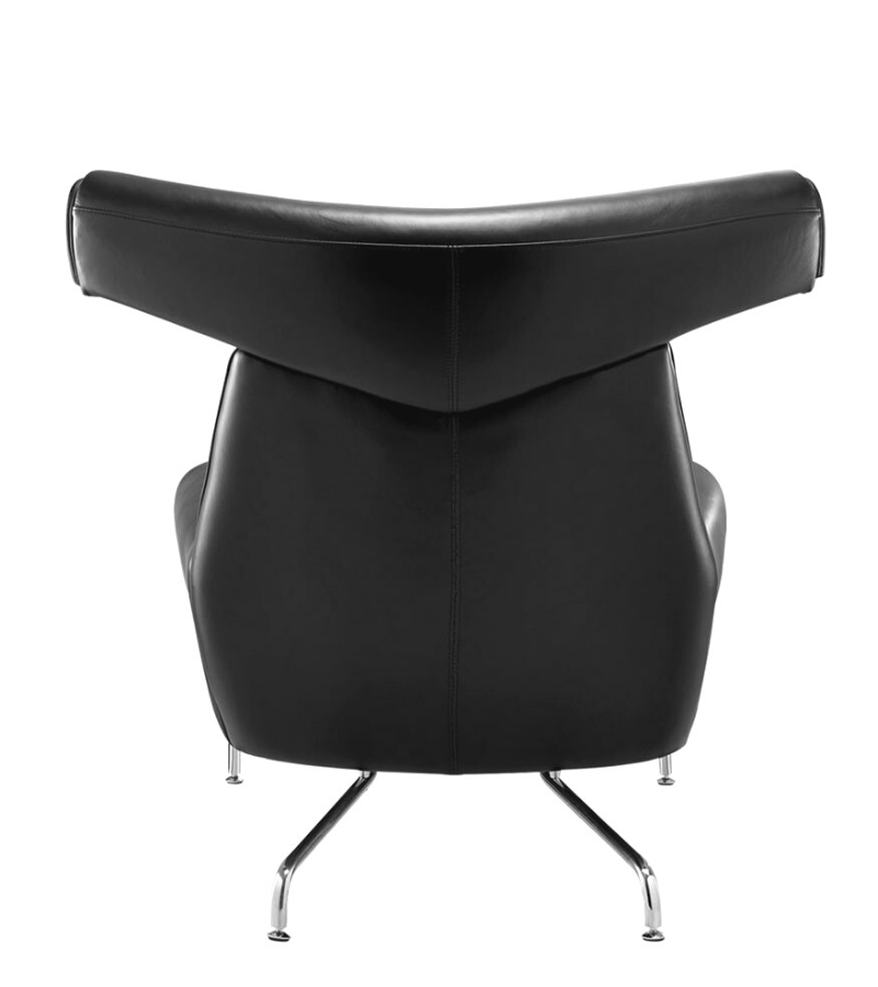 Leather Egg Chair Arne Jacobsen style Premium Quality – Onske