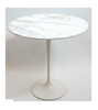 White Marble Side Table - Onske