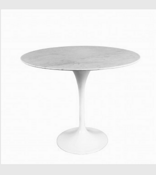 Italian Carrara Marble Side Low Table