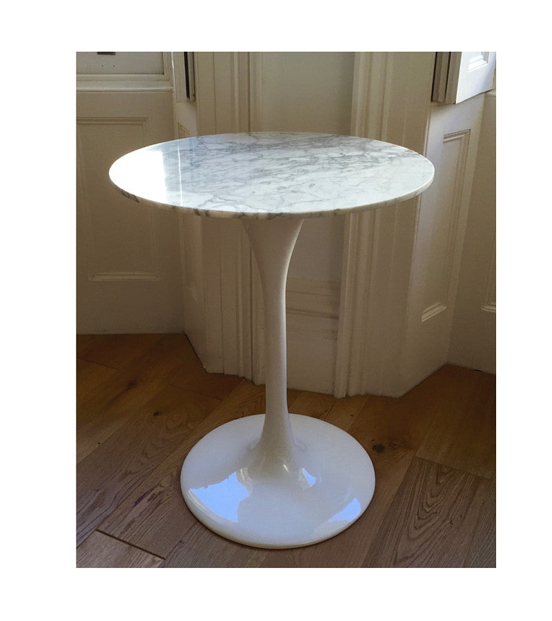 Marble Bistro Table 70cm Diameter - Onske