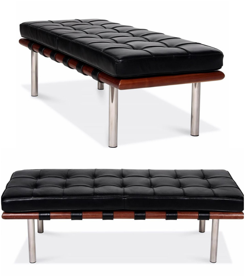 Barcelona Bench Premium Leather