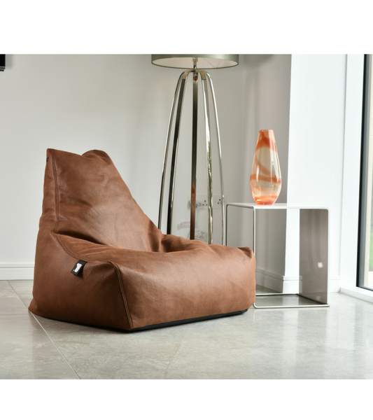 Luxury Leather Look Beanbag premium quality - onske-2
