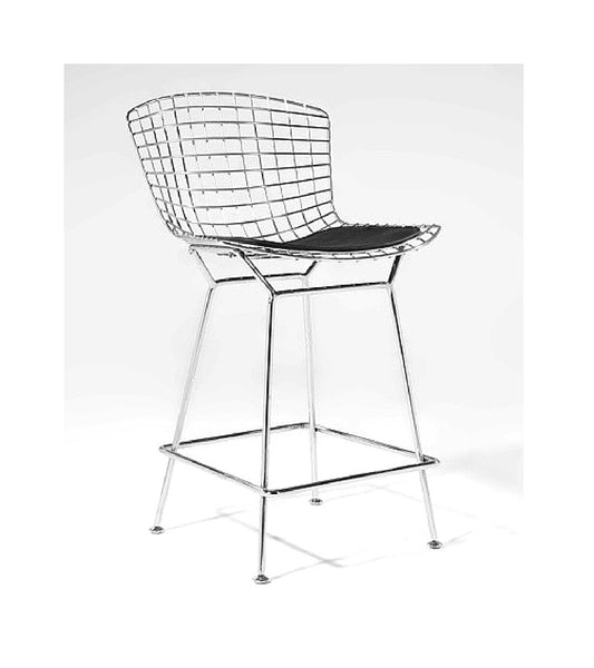 Wire Bar Stool Harry Bertoia Style - Onske