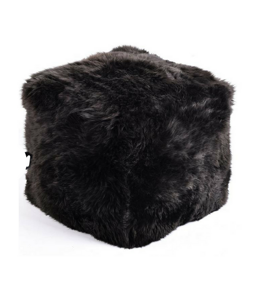 Pure Sheepskin Luxury Foot Stool Ottman in choice of colour - onske-2