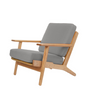 GE290 Plank Chair in Ash Wood Wegner Style - Onske