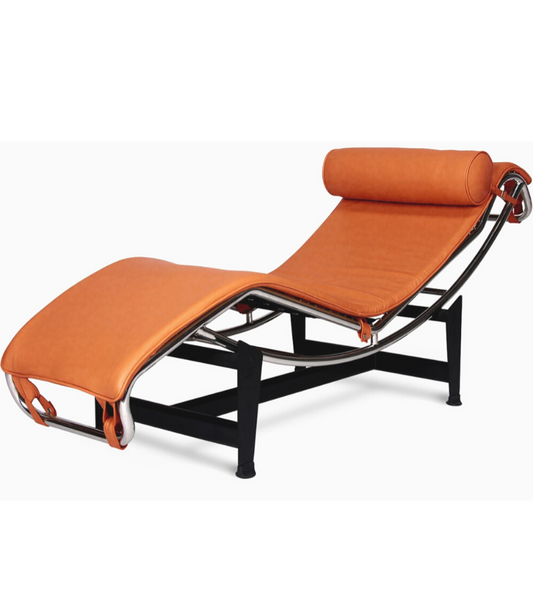 LC4 Chaise Longue Corbusier style in full leather