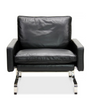 PK31 Style Armchair in full aniline leather - onske-2