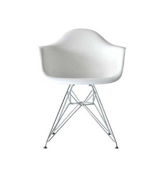 D AR Style Armchair with Eiffel Base - Onske