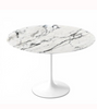 Arabascato Marble Tulip Dining Table in Choice of Size
